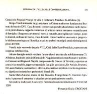 Articolo del Conte Prof. Fernando Crociani Baglioni in Rivista Araldica del 1989 /4.
