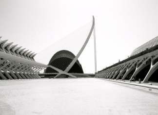 The City of Future Calatrava in Valencia Spaign