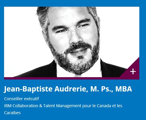 Jean-Baptiste Audrerie CRHA - Conférence