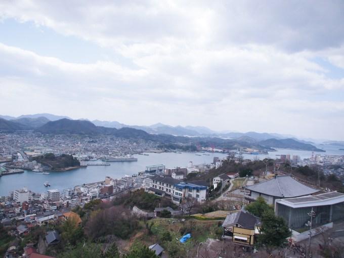 尾道水道(千光寺公園より)