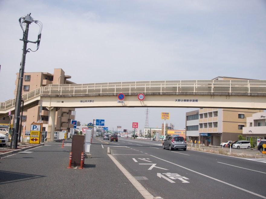 大野辻横断歩道橋