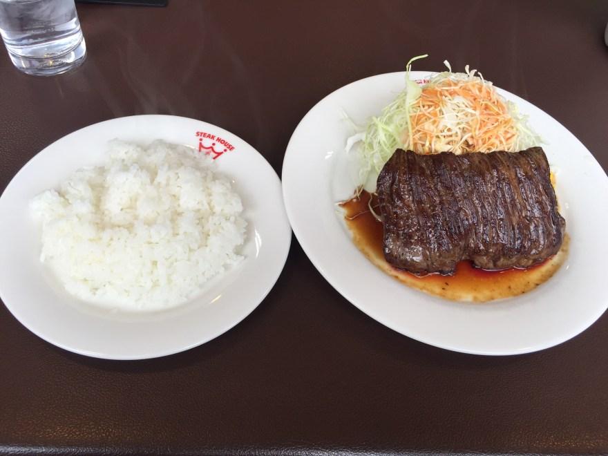 ラジャ南福山店 ビーフステーキ