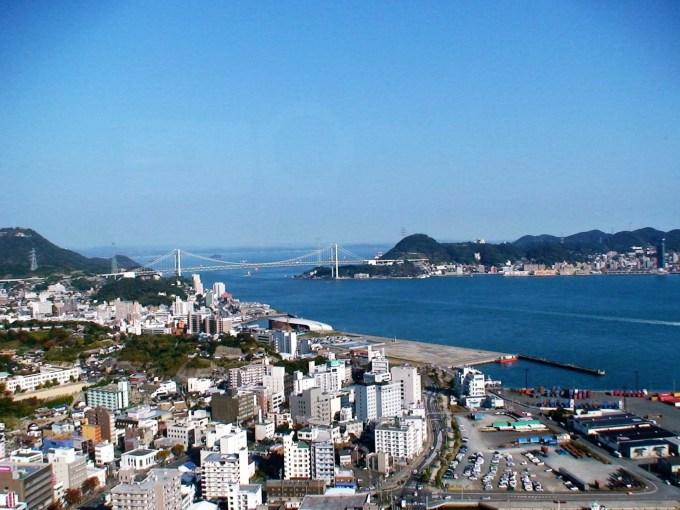 長門国 関門海峡