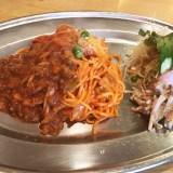 【ゴールデン・ケチャップ】福山市三之丸町〜懐かしのナポリタン専門店!アツアツ モチモチの麺が最高!ランチに最適