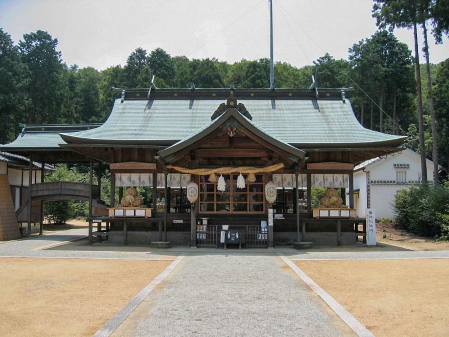 安仁神社:拝殿
