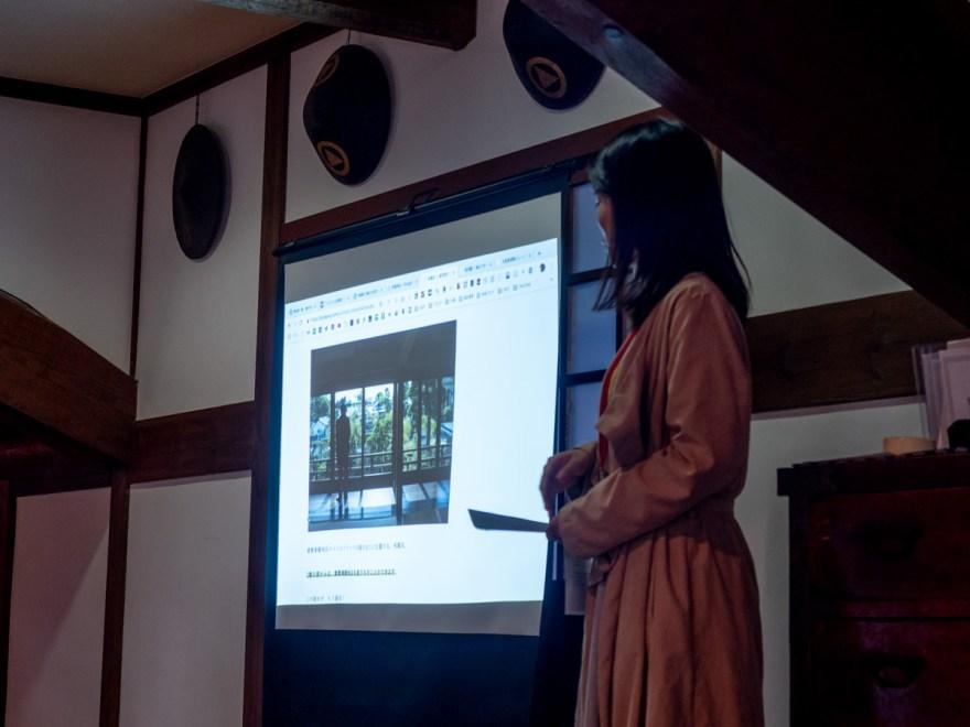 第1回倉敷とことこ 春の交流会@倉敷美観地区:大原家関連施設の紹介のようす