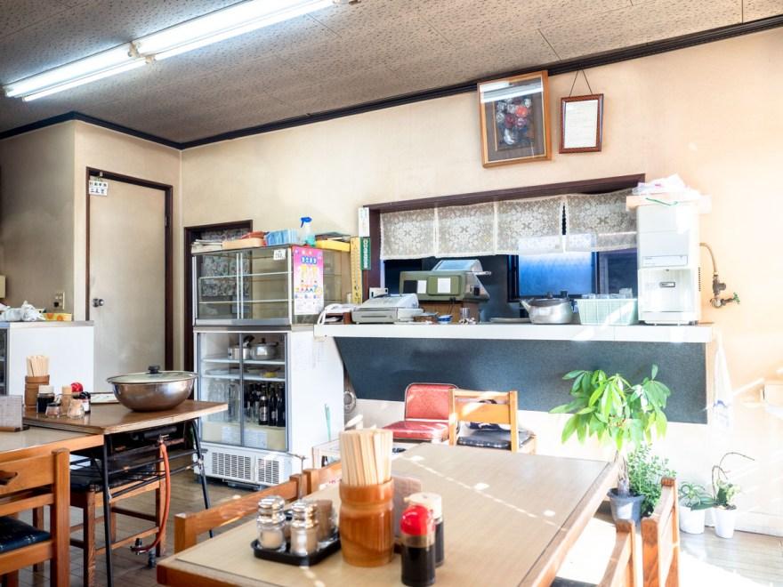 シャコ丼の店:店内