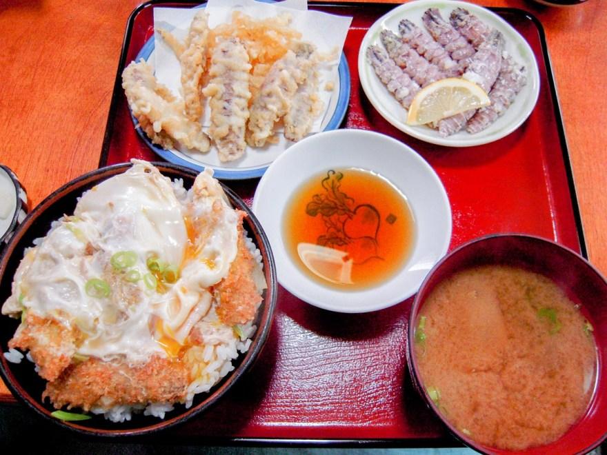 シャコ丼の店:シャコ丼定食