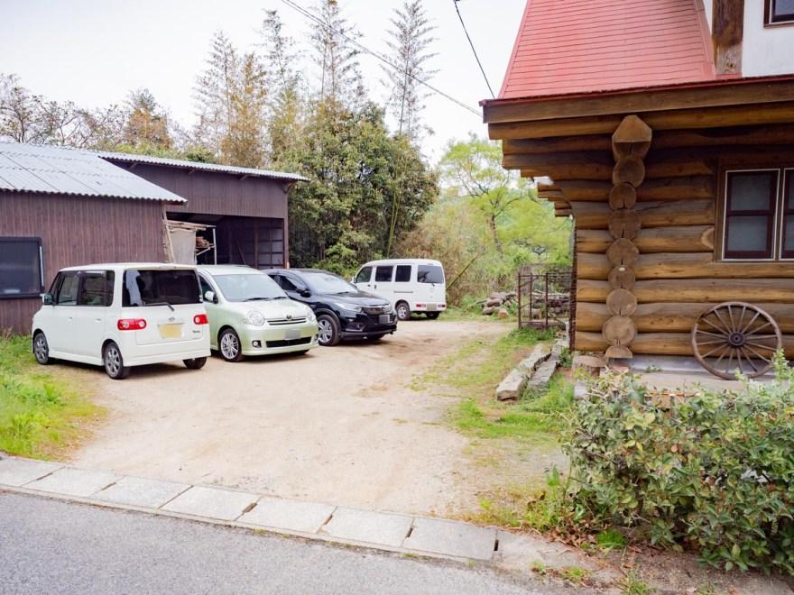 北山カレー工房:駐車場
