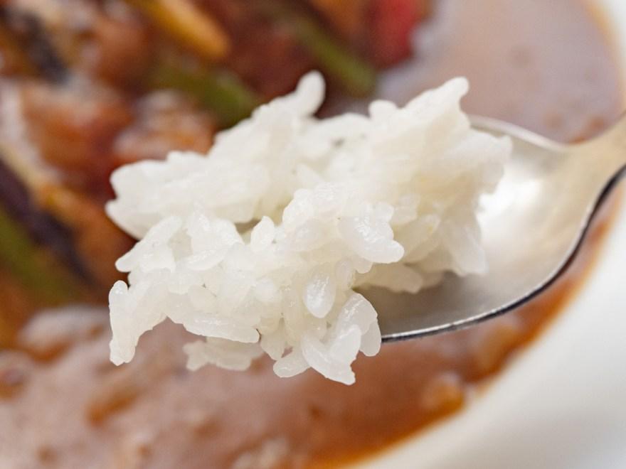 神戸屋:ナスと挽き肉のカレーのライス
