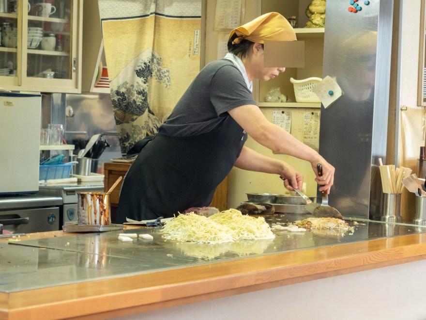 古川食堂:店内のようす