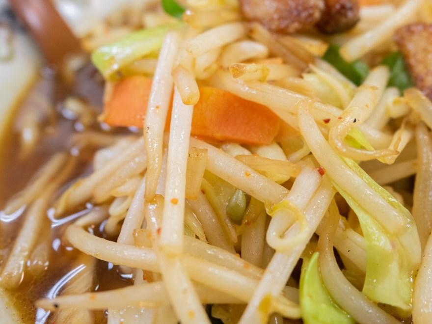 吉備路:元気ラーメンの野菜