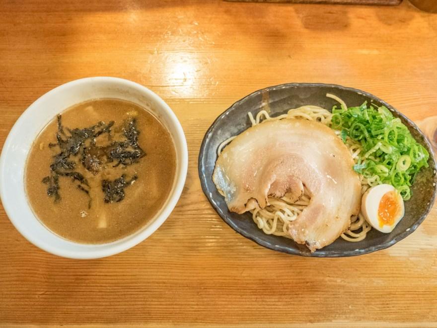 満麺亭:濃厚魚介つけ麺