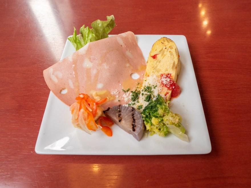 チッチョ:日替わりの前菜