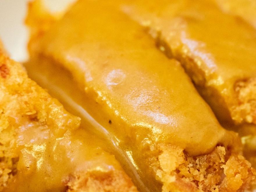 麺屋 千鳥:ミニチキンデミカツ丼