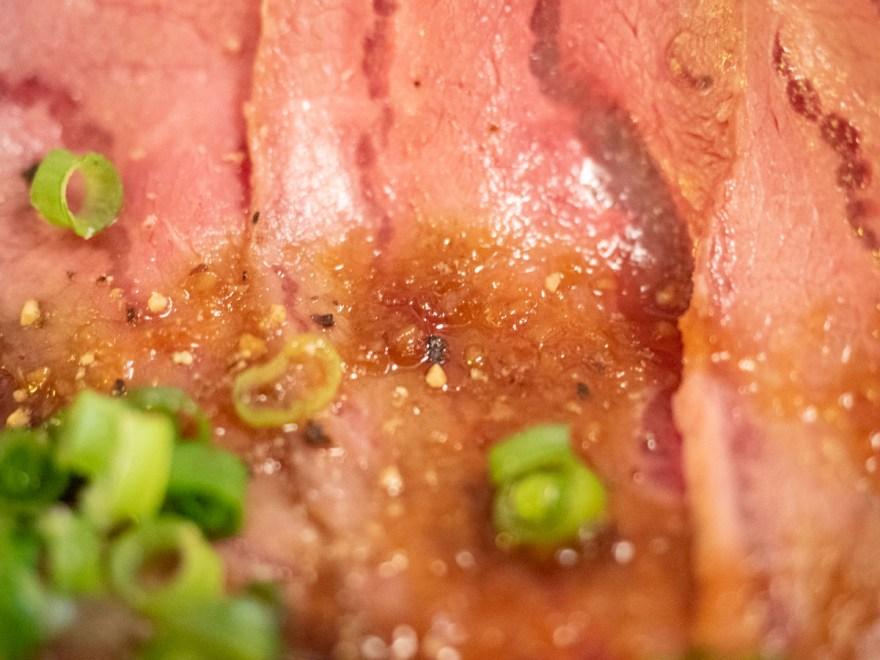 ひろや:ローストビーフ丼定食