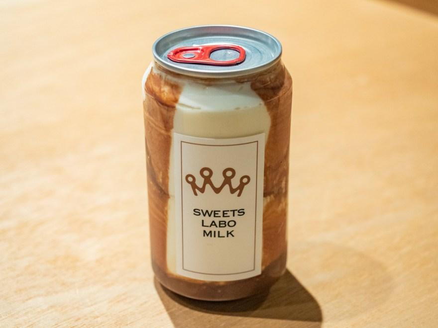 スイーツラボミルク自動販売機 福山天満屋:恋するティラミス