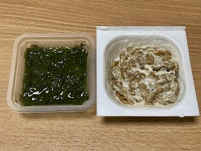 ローソン_めかぶ納豆_温泉卵