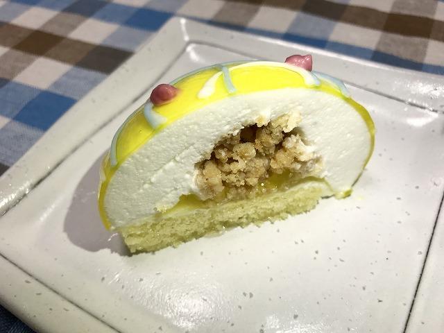 セブン_スイーツ_ヨーヨーみたいなケーキ ゆずレアチーズ_06