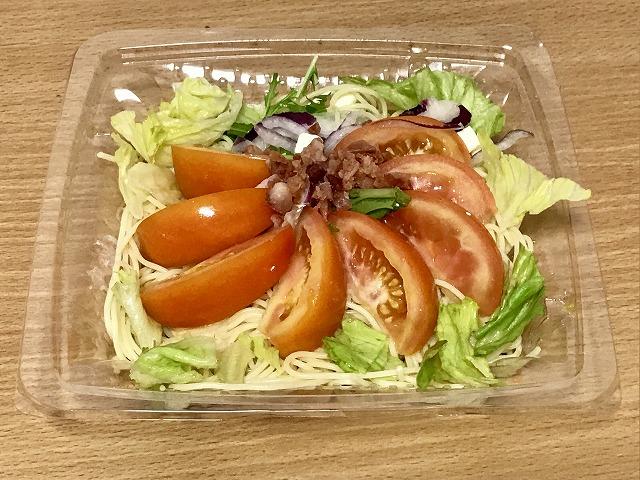 まるごとトマトの冷製パスタ