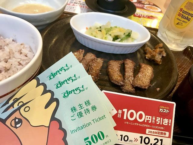 3社合同定期券_ガスト_牛たん焼き定食_05