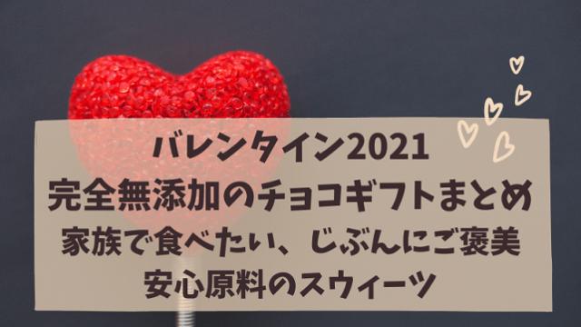 バレンタイン 完全無添加 オーガニック チョコレートギフト 安心原料