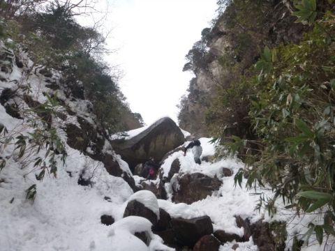 三角岩(ジョーズ岩)