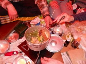 1.テント食