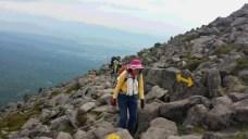 岩稜体にでました