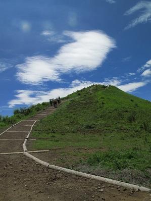 気持ちの良い穏かな.登りを、爽やかな風と共に登って!!