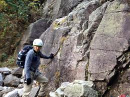 小滝登攀箇所1