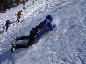 滑落訓練2