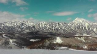 西岳から高妻山まで