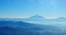 富士山がくっきり!