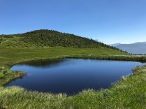 熊沢湿原池塘