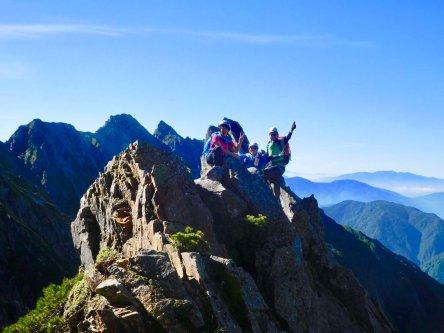 トリコニー1峰にて