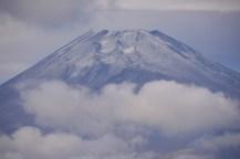 どアップ富士山