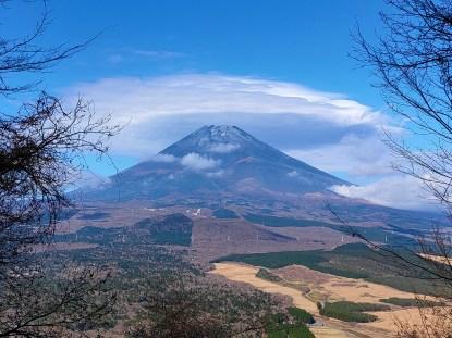 壮麗な富士山