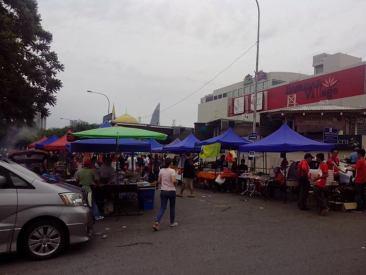pasar ramadhan jalan telawi