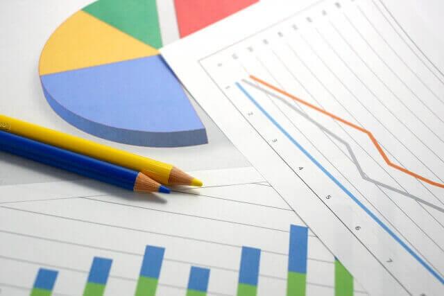 採用基準が上がっているグラフの画像