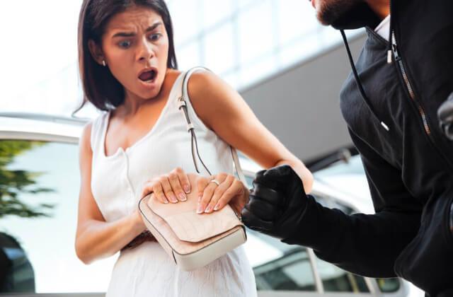 盗難被害に遭わない為の注意点