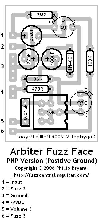 Fuzzface npn germanium issues