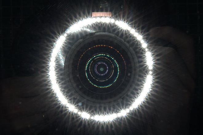 Ring Light Mirror