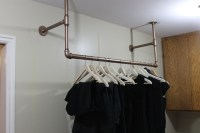 wall mounted clothing rack  Roselawnlutheran