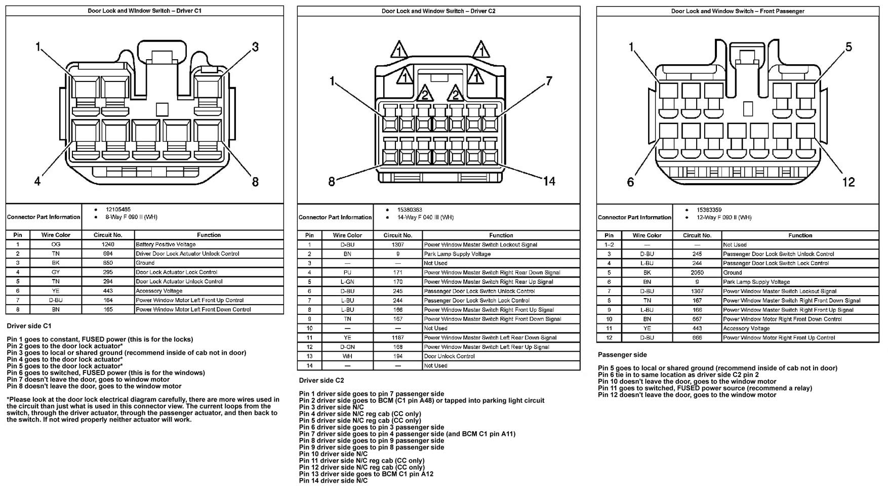 2004 gmc sierra wiring diagram bmw e46 pictures chevy truck 2005 gm power seat