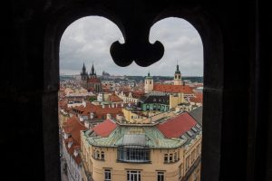 Window to Prague
