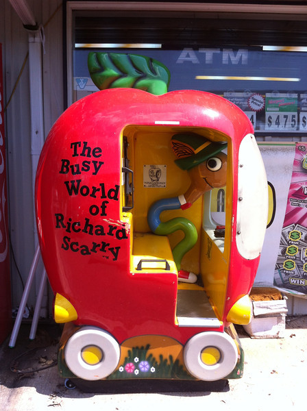 Richard Scarry Lowly Worm Ride