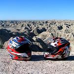 Helmets at Badlands National PArk South dakota