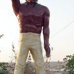 Bakersfield Indian Muffler Man