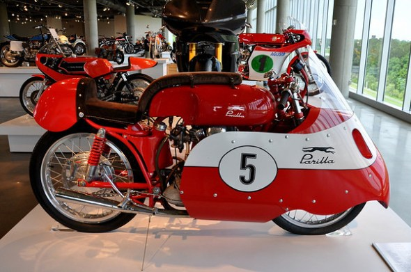 1956 Parilla Corsa at Barber Museum